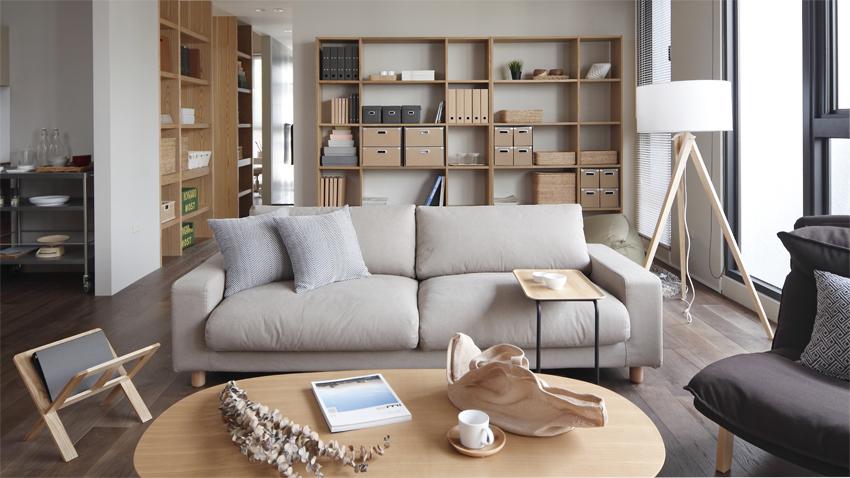 每次翻閱無印良品的家具型錄或是走進門市,總讓我們發現「家」其實不需太多繁複設計,只要簡約舒適同時具備收納機能,就能享受簡單生活風格。