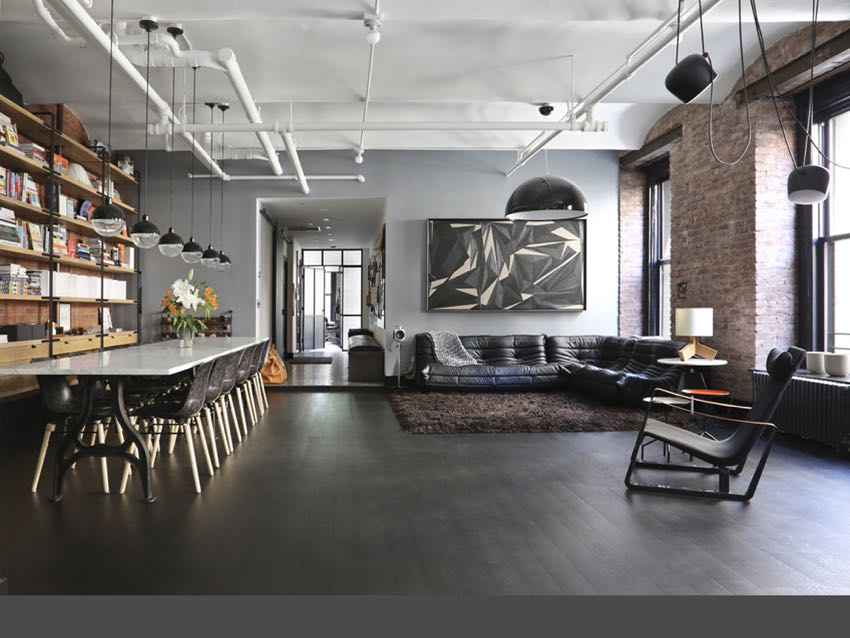 ideas for studio apartments photos - 紐約現代工業風 Loft 公寓 DECOmyplace 新聞