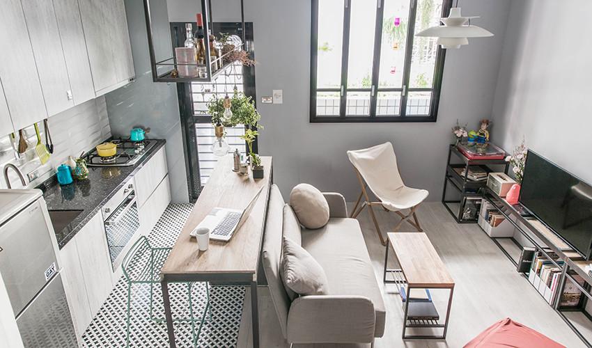 小宅的優雅 新北 9 坪精緻北歐風女子公寓
