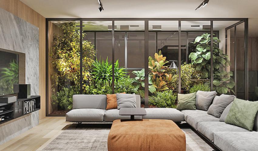 我家也有熱帶叢林!俄羅斯現代簡約親子宅 - DECOmyplace 裝潢裝修、室內設計、居家佈置第一站