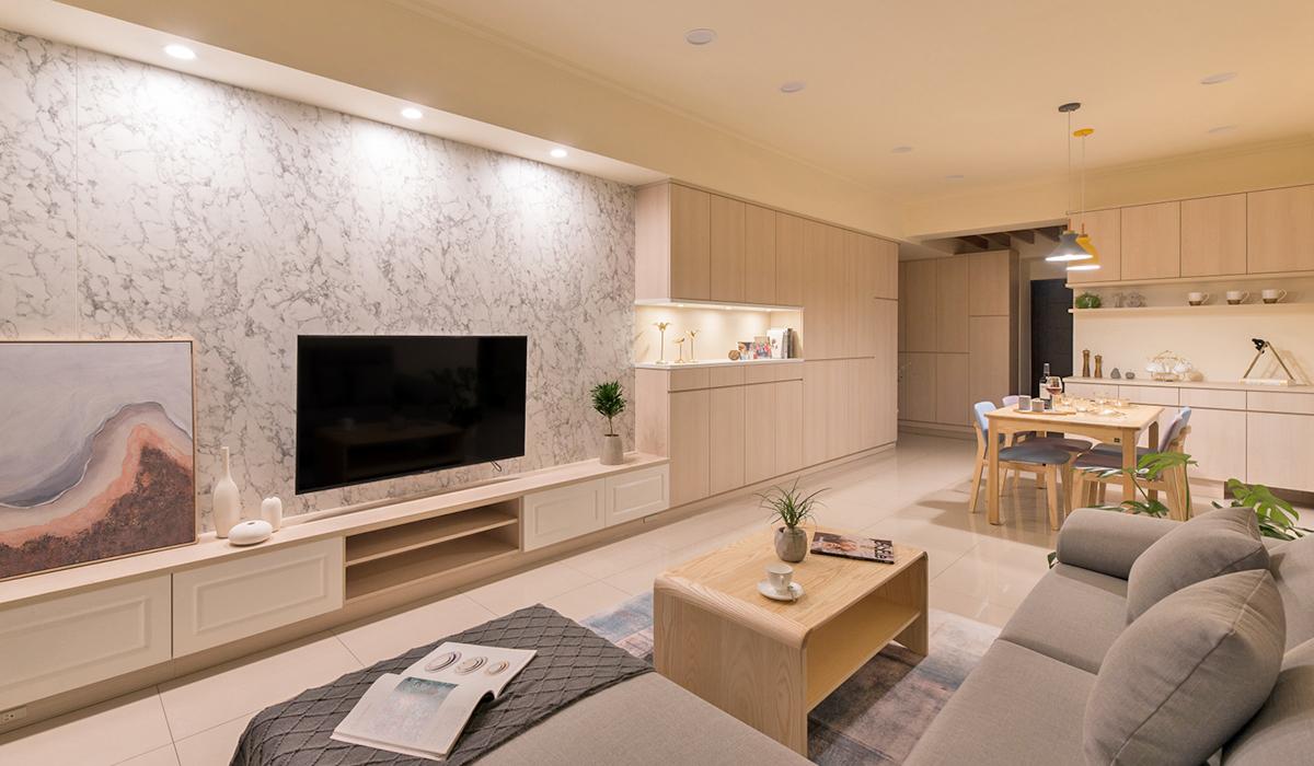 客廳空間裝潢室內設計