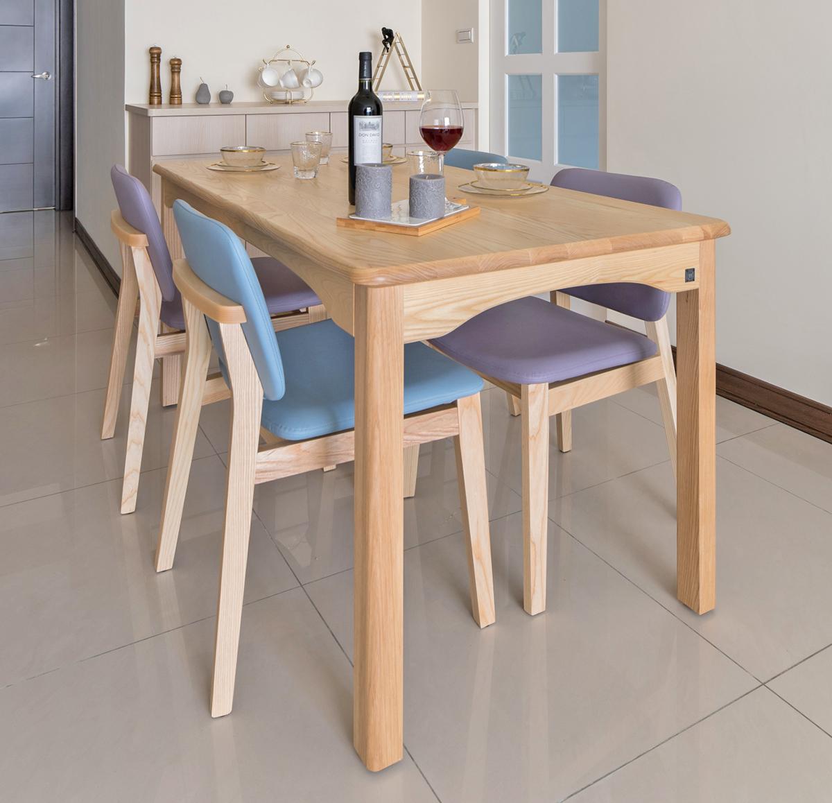 實木餐桌椅餐廳裝潢設計