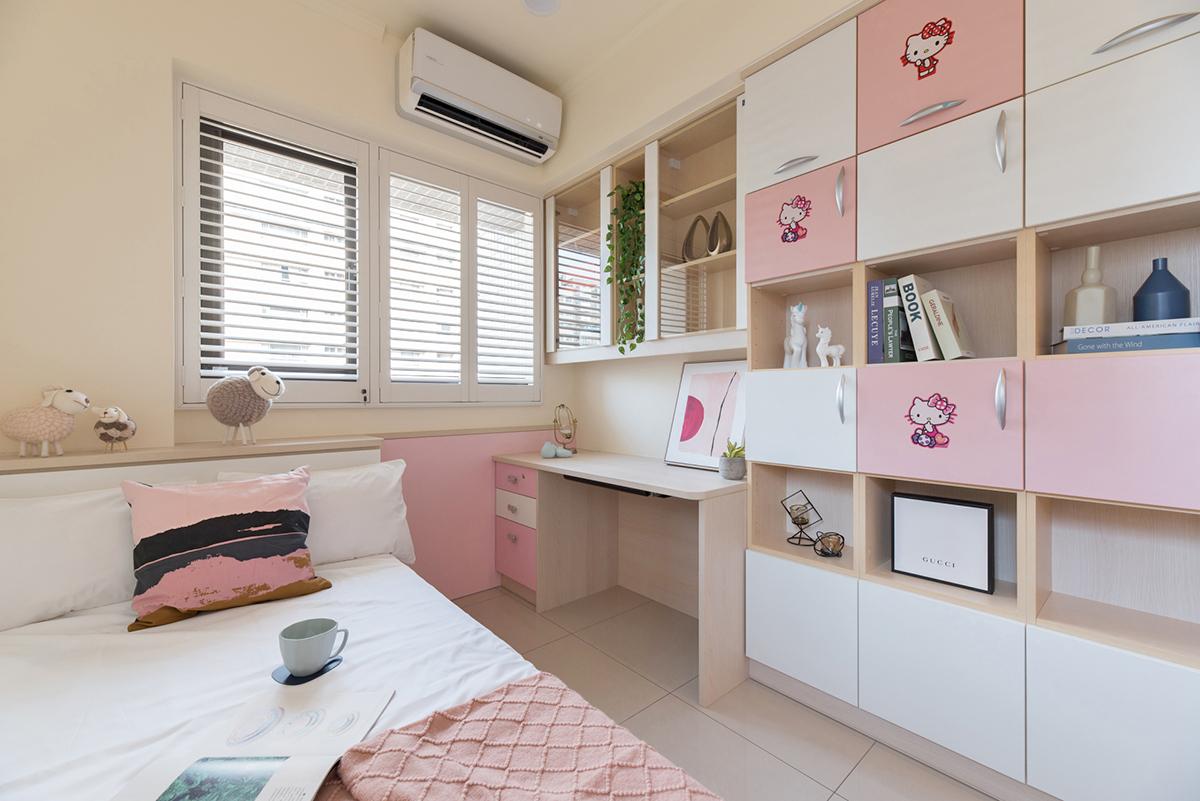 女孩房空間設計